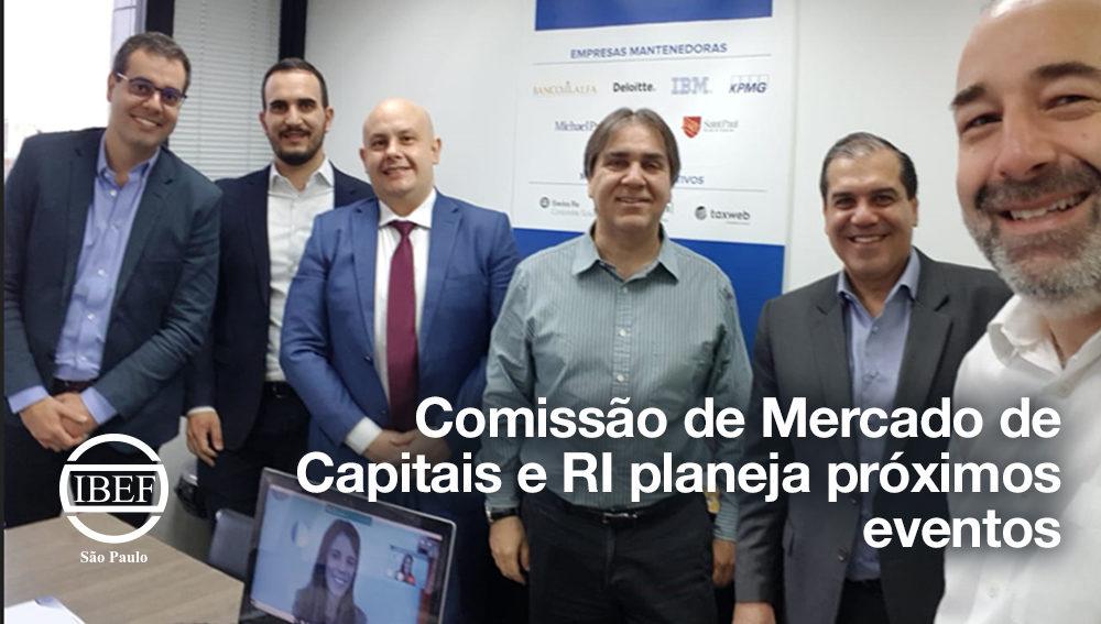 Comissão de Mercado de Capitais e RI planeja próximos eventos