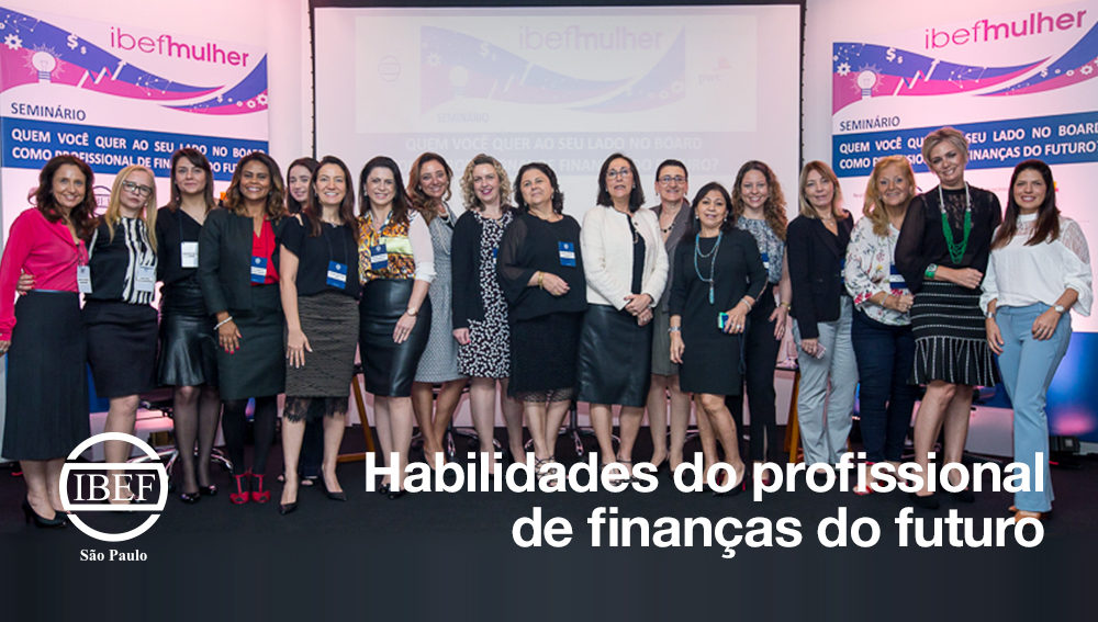 Habilidades do profissional de finanças do futuro