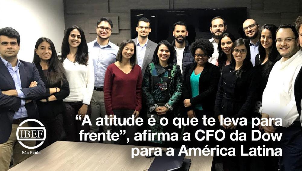 """A atitude é o que te leva para frente"", afirma a CFO da Dow para a América Latina"