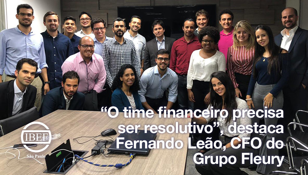 """""""O time financeiro precisa ser resolutivo"""", destaca Fernando Leão, CFO do Grupo Fleury"""